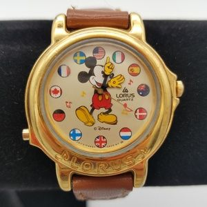 Disney X Lorus Mickey VTG Musical Watch